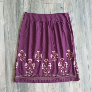 Talbot's Cotton Skirt, Size 12